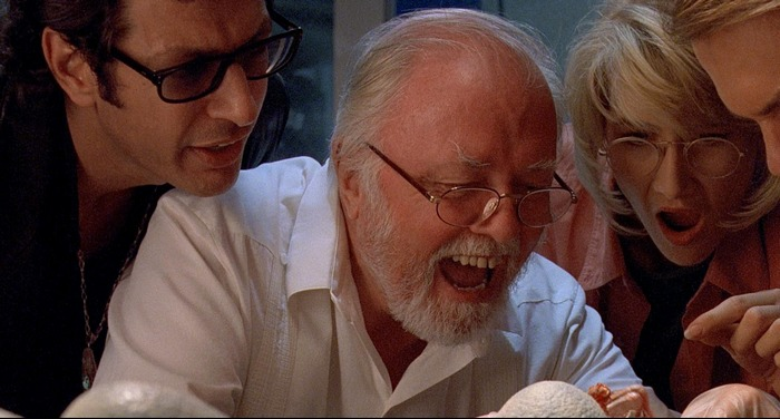 Richard Attenborough John Hammond Jurassic Park