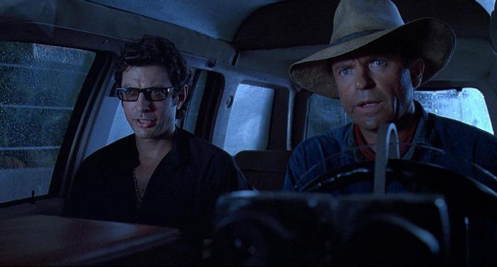 Sam Neill Jeff Goldblum Alan Grant Ian Malcolm Jurassic Park Review