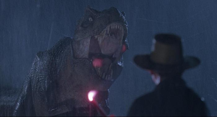 Jurassic Park T Rex Roar Another concept is that