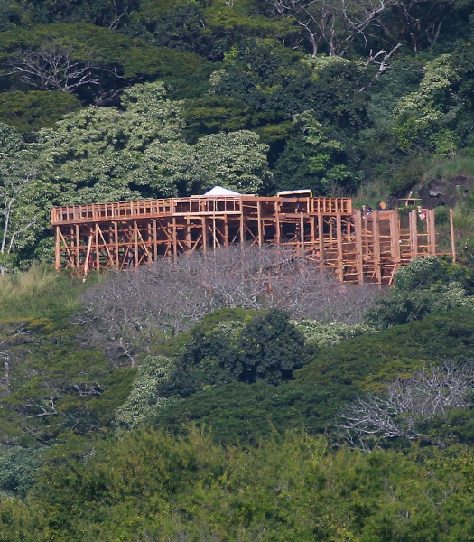 319351 Jurassic World Set Pictures from Oahu, Hawaii