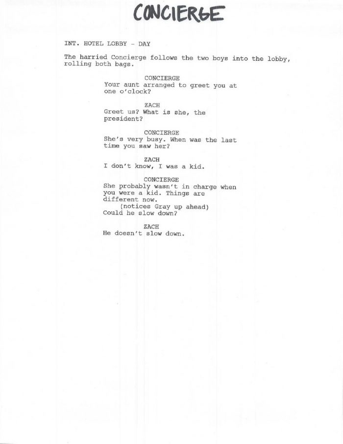 Concierge Casting Call for Jurassic World + Cast Pages Leaked