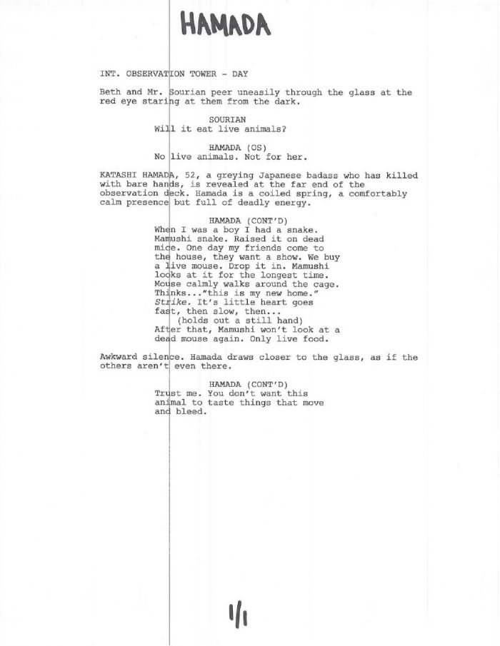 Hamada Casting Call for Jurassic World + Cast Pages Leaked