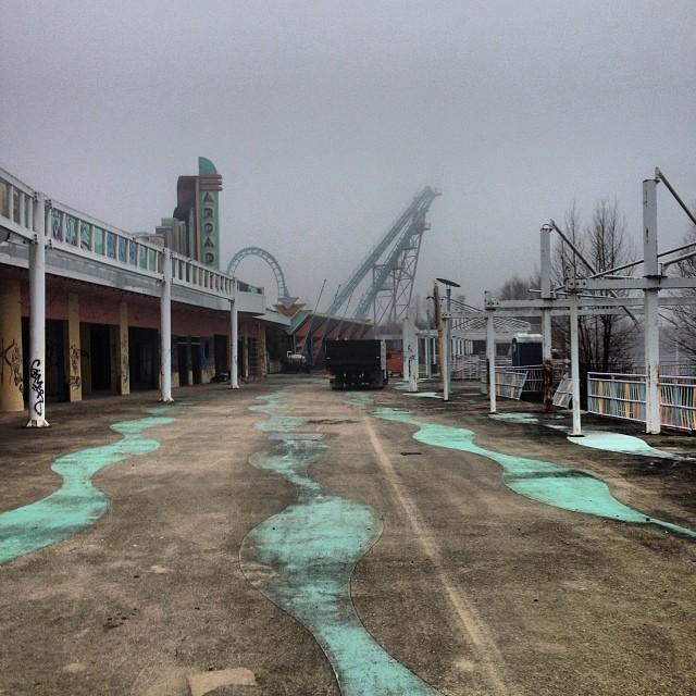 Six Flags Amusement Park New Orleans