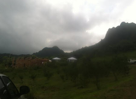 Kualoa Ranch Hawaii Jurassic World Hawaii Set Pictures!