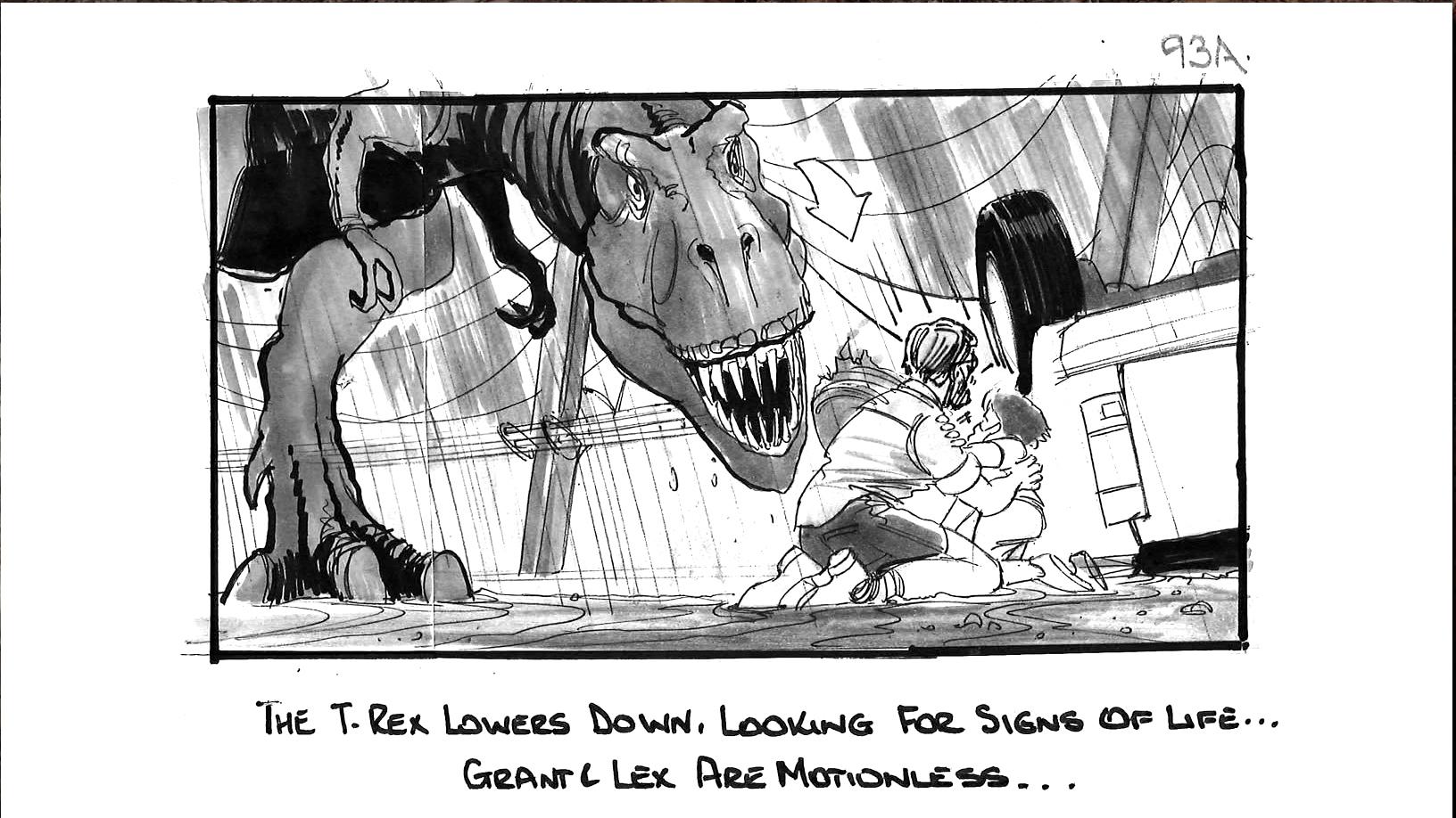 Jurassic Park T Rex Attack