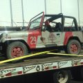 Jurassic Park World Jeep