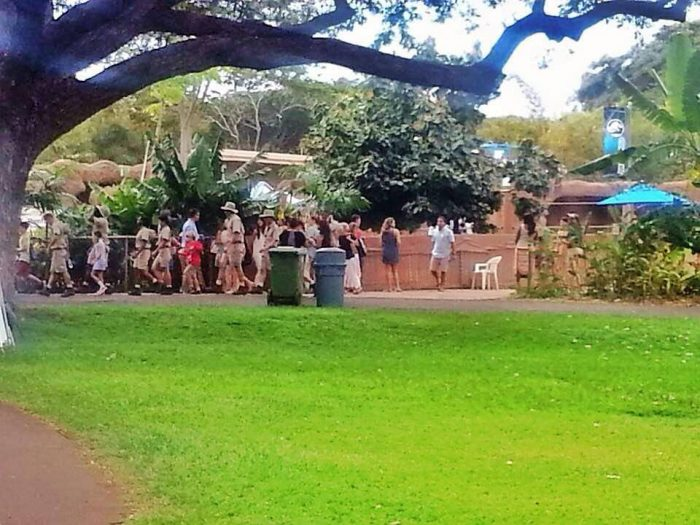Honolulu Zoo First Jurassic World Set Pictures