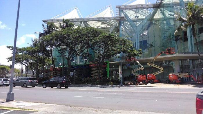 Hawaii Convention Center Jurassic World Filming at Hawaii Convention Center