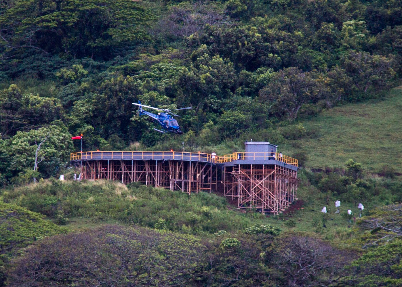 Helipad Helicopter Jurassic World