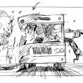 The Lost World Storyboard The T-Rex Visits San Diego