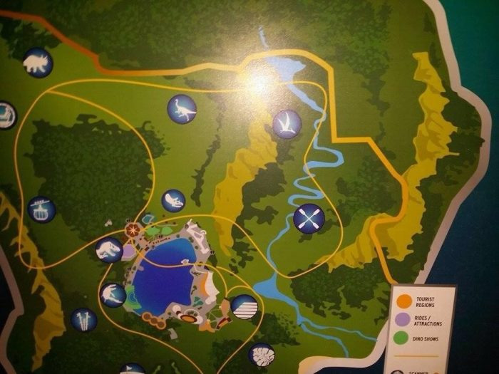 Jurassic World Map Map of Jurassic World Leaks Online