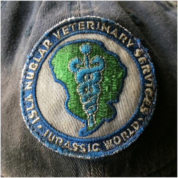 patch Jurassic World Veterinary Patch