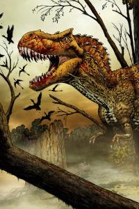 trex Jurassic World Dinosaur & Theme Park Spoilers!
