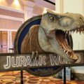 Jurassic World Display at Licensing Expo