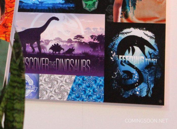 jwpromo2 More Jurassic World Promo Art at Licensing Expo