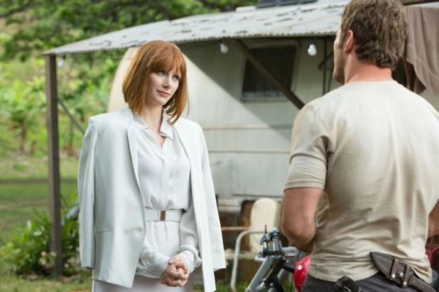 Bryce Dallas Howard Three New Jurassic World Stills