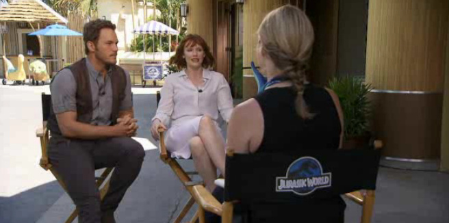 Videos from the Jurassic World Set in New Orleans