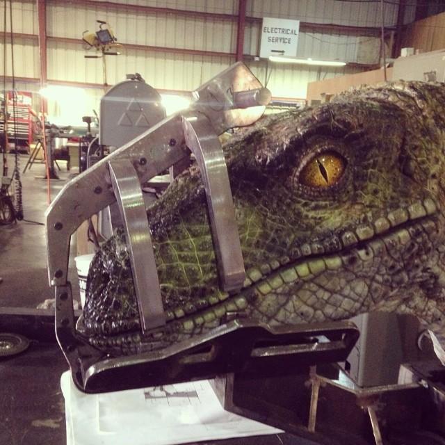 Velociraptor leaked image jurassic world Jurassic World Velociraptor Image Leaked!