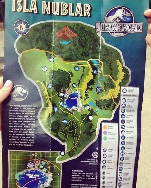 map Jurassic World Seen Filming at Audubon Zoo