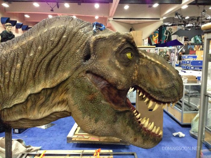 San Diego Comic-Con 2014 T-Rex Jurassic World Comic-Con 2014 News