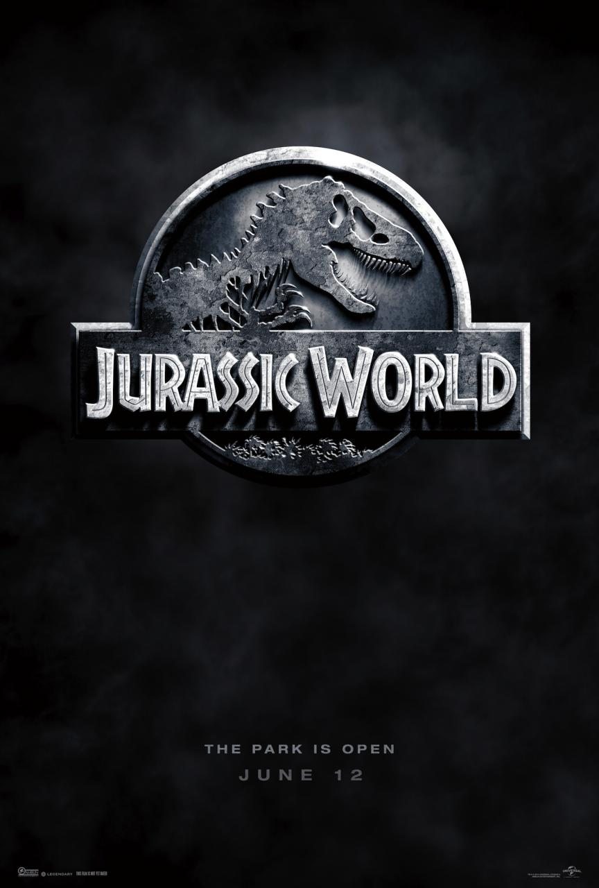 """New Jurassic World Poster: """"The Park Is Open"""""""