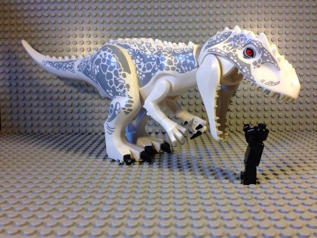 lego01 Jurassic World Diabolus-Rex Lego Pictures Leaked?