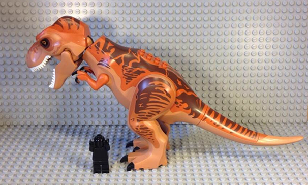 lego03 Jurassic World Diabolus-Rex Lego Pictures Leaked?