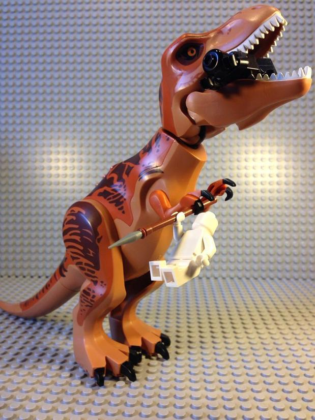lego06 Jurassic World Diabolus-Rex Lego Pictures Leaked?