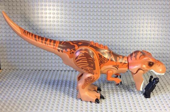 lego07 Jurassic World Diabolus-Rex Lego Pictures Leaked?