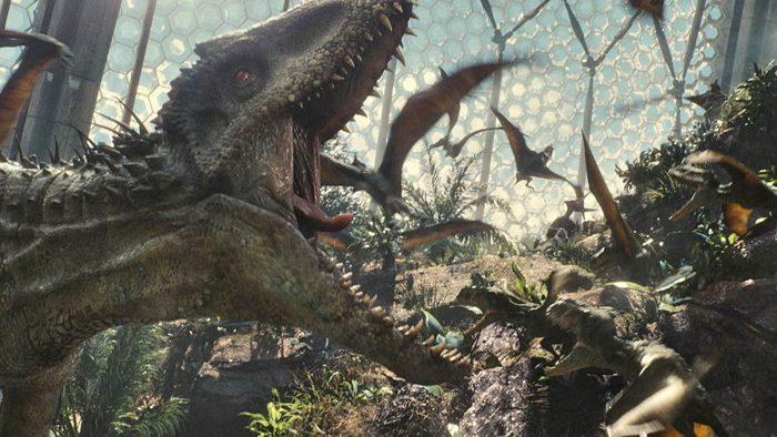 Tyrannosaurus Rex Indominus Rex