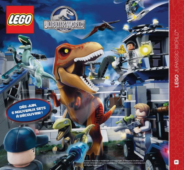 LEGO-Jurassic-World-Catalog First Official Image from Jurassic World Lego!