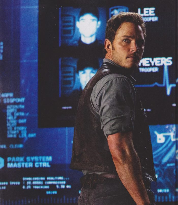 e1 New Jurassic World Pictures & Empire Scans