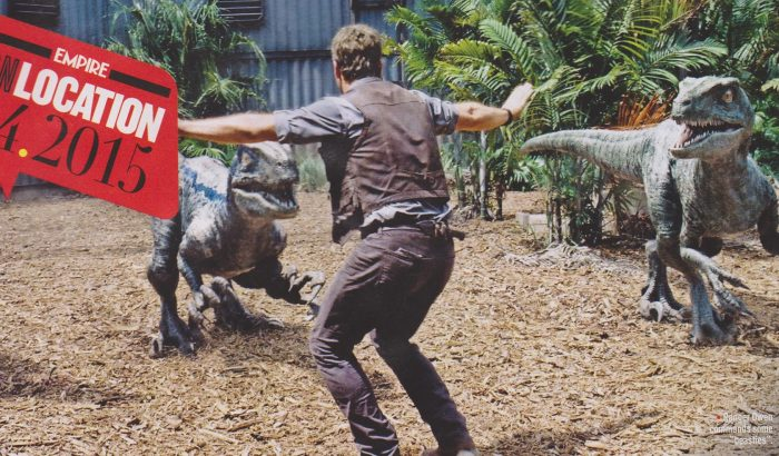 e2 New Jurassic World Pictures & Empire Scans
