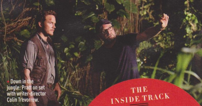 e3 New Jurassic World Pictures & Empire Scans