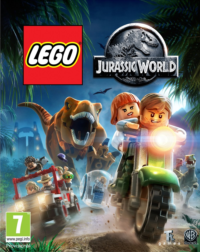 jwboxart Lego Jurassic World Game Trailer