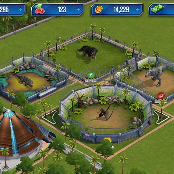 CCCTpURW4AIbm2p Jurassic World: The Game for IOS