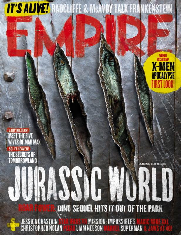 empire01 Jurassic World Featured in Empire Magazine
