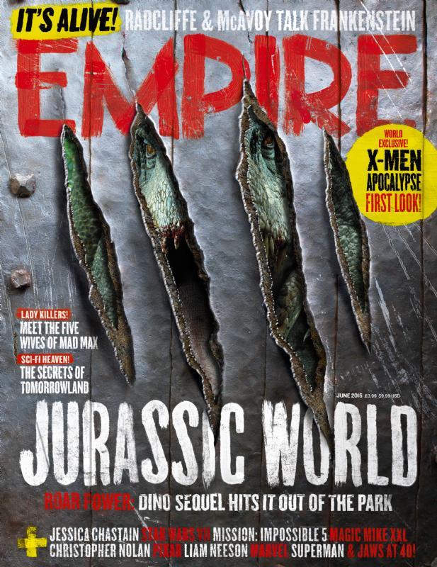 empire01 Jurassic World Featured in Empire Magazine