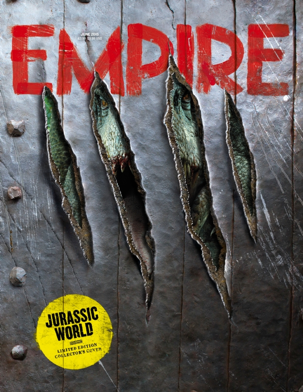 empire02 Jurassic World Featured in Empire Magazine