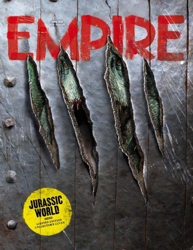 empire02 Jurassic World Featured in Empire Magazine