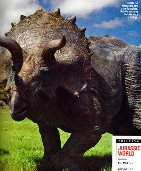 empire04 Jurassic World Featured in Empire Magazine