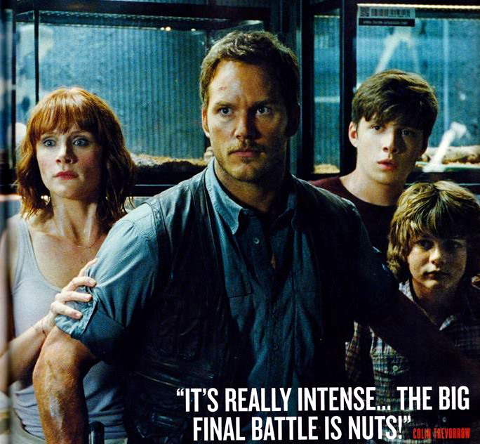 empire11 Jurassic World Featured in Empire Magazine