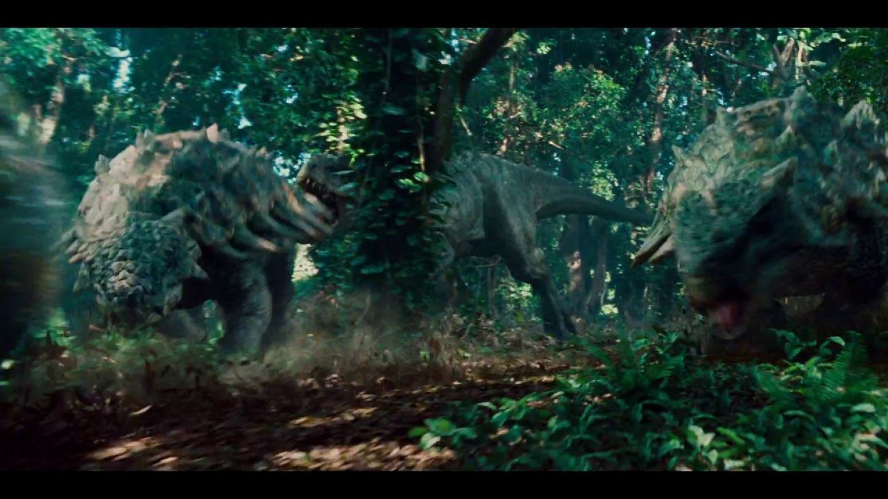 new jurassic world trailer features t rex. Black Bedroom Furniture Sets. Home Design Ideas