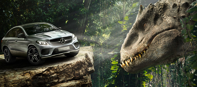 <h2>Jurassic World Mercedes-Benz Featurette</h2><span class='featuredexcerpt'>A new Jurassic World featurette has been released highlighting the new Mercedes-Benz car which will be released the same time as the movie. The feature contains a [&hellip;]</span>