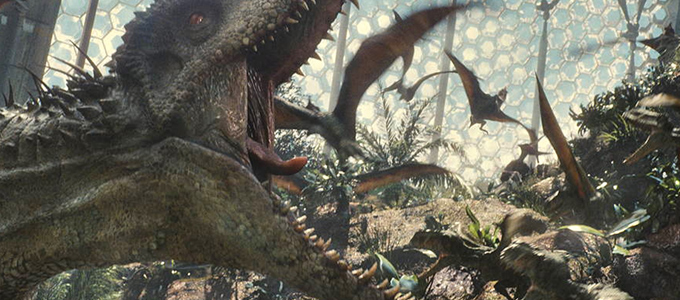 <h2>17 New Jurassic World Production Stills</h2><span class='featuredexcerpt'>17 new Jurassic World production stills have been released today. Many show the cast and director Colin Trevorrow. There&#8217;s some shots of the Tyrannosaurus Rex and the [&hellip;]</span>