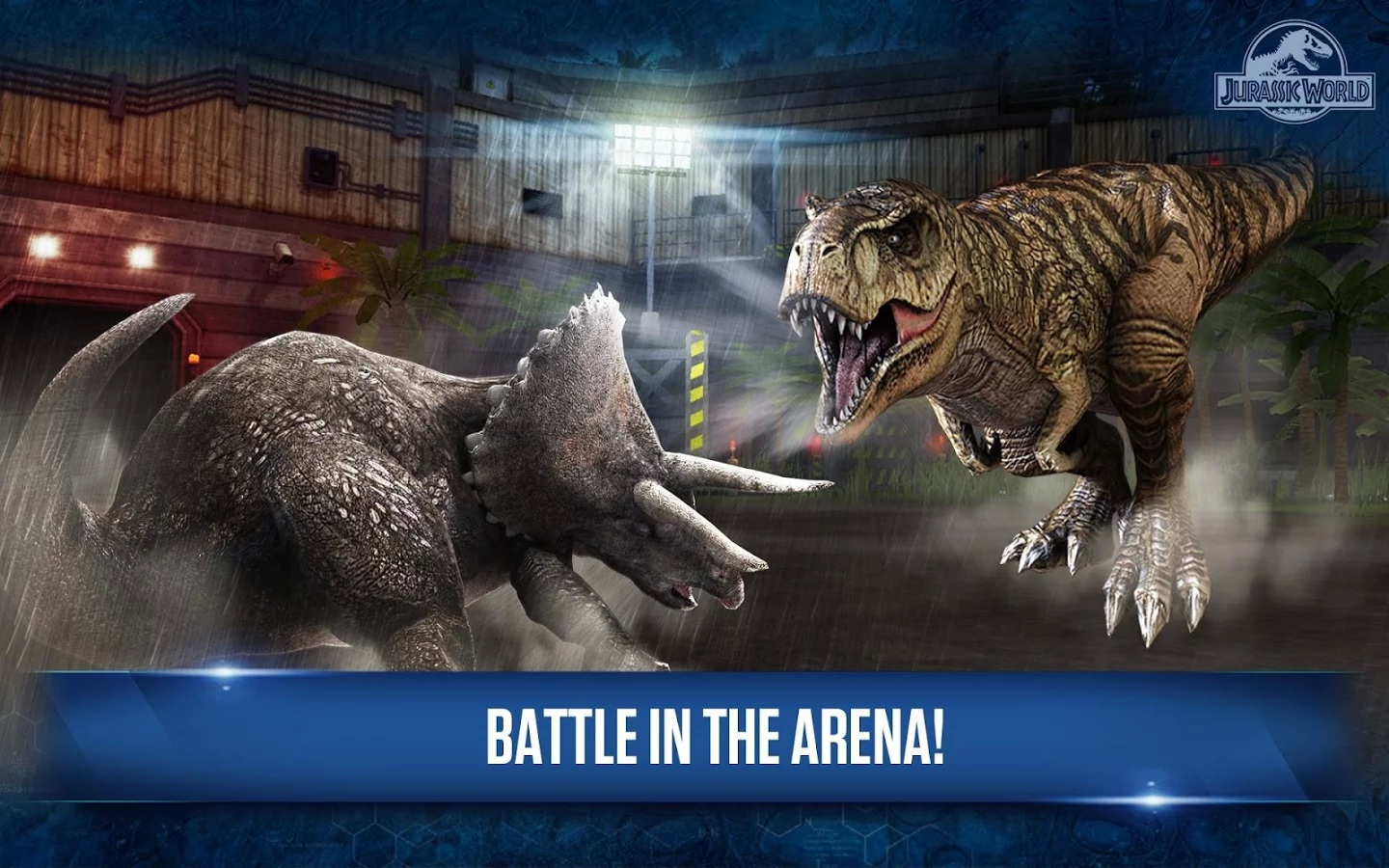 jwgame01 Jurassic World: The Game Available on IOS/Android