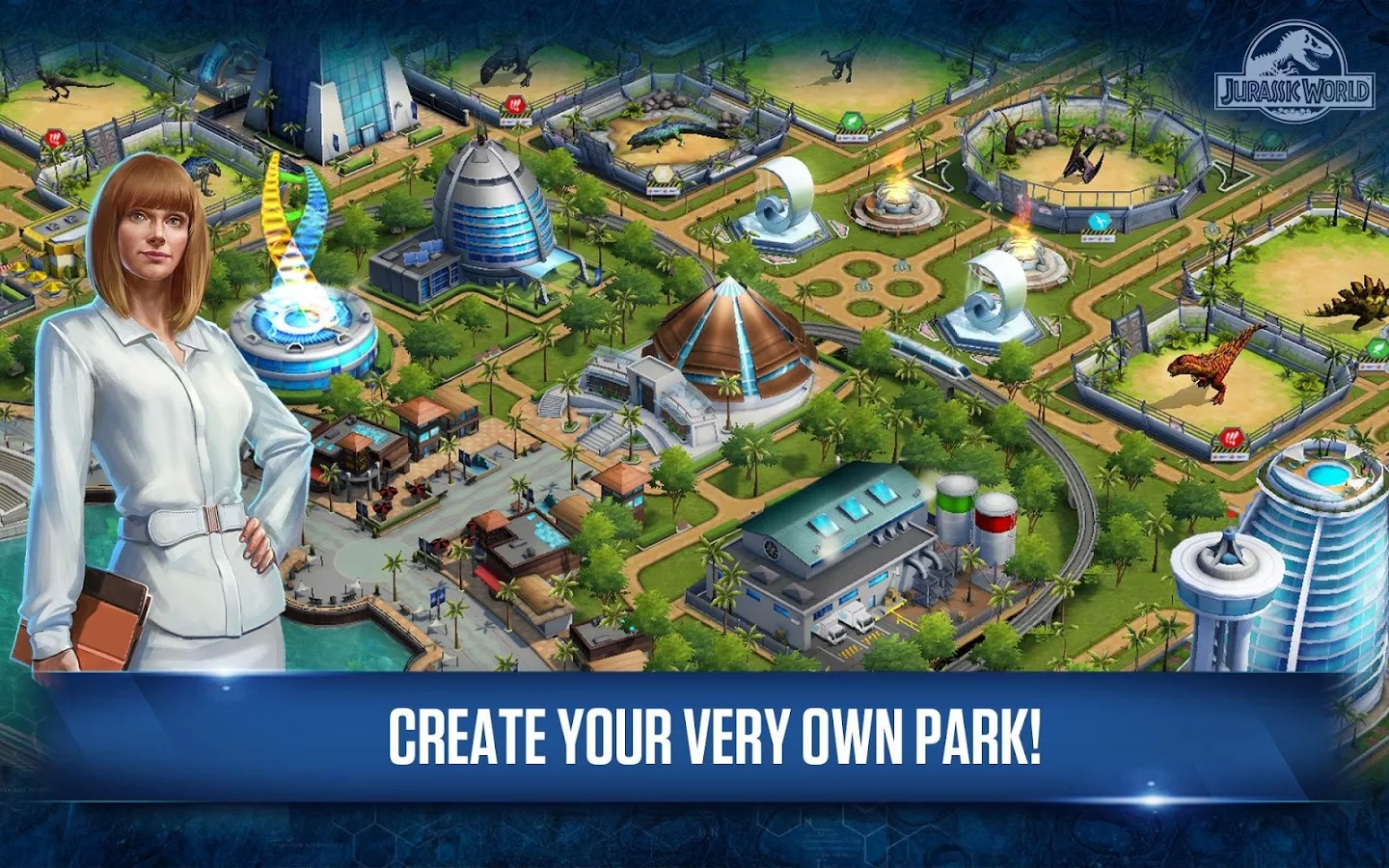 jwgame02 Jurassic World: The Game Available on IOS/Android