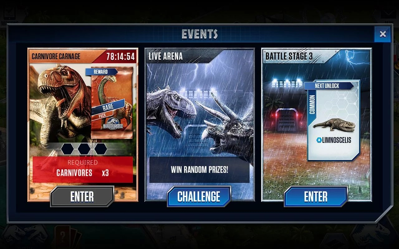 jwgame06 Jurassic World: The Game Available on IOS/Android