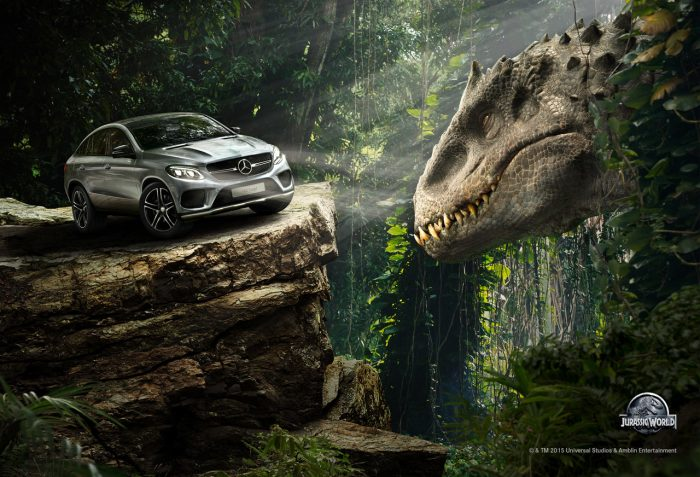 Jurassic World Mercedes-Benz Featurette