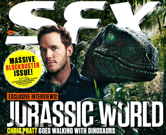 sfx Jurassic World Featured in SFX Magazine - Scans